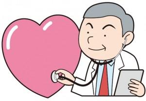 心臓を検査してもらう