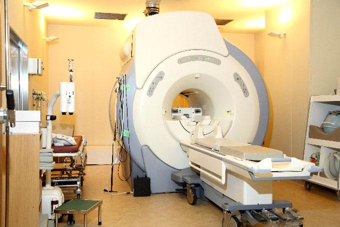 脳検査のMRI
