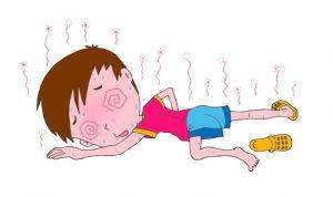 子供がノロウイルスに感染